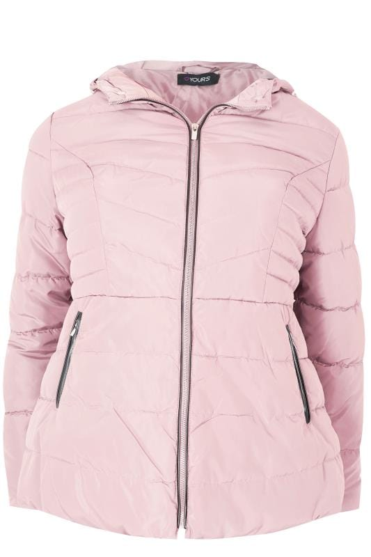 Anorak Rosa Con Capucha Tallas Grandes 44 A 64 Yours Clothing