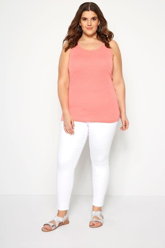 Light Pink Vest Top