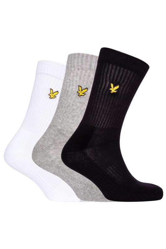 Men's Beauty LYLE & SCOTT 3 PACK Multi Hamilton Sports Socks