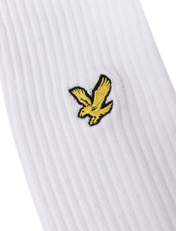 LYLE & SCOTT 3 PACK White Hamilton Sports Socks