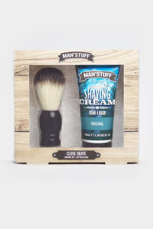 Plus-Größen Gifts MAN'STUFF 'Close Shave' Shaving Set