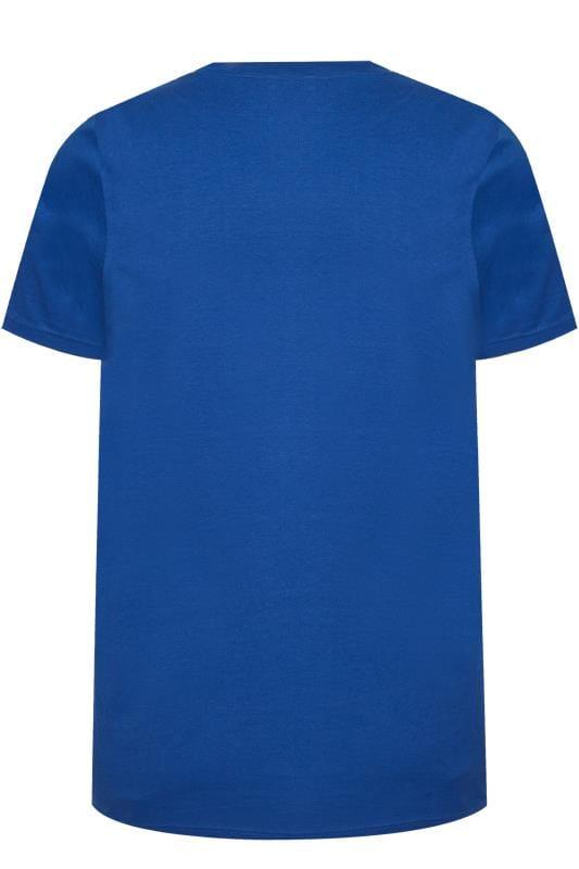 BadRhino Blue 'Miami' Print T-Shirt