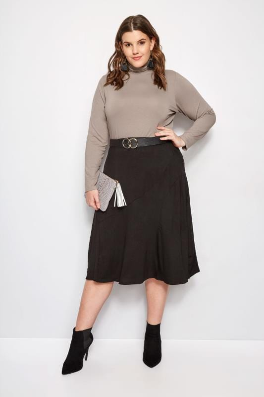 Mink Turtleneck Top
