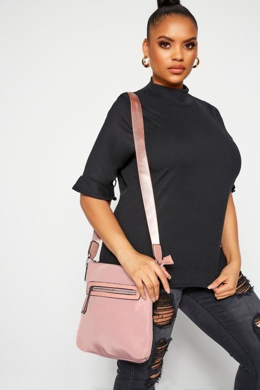 Cross Body Bags Dusky Pink Cross Body Bag