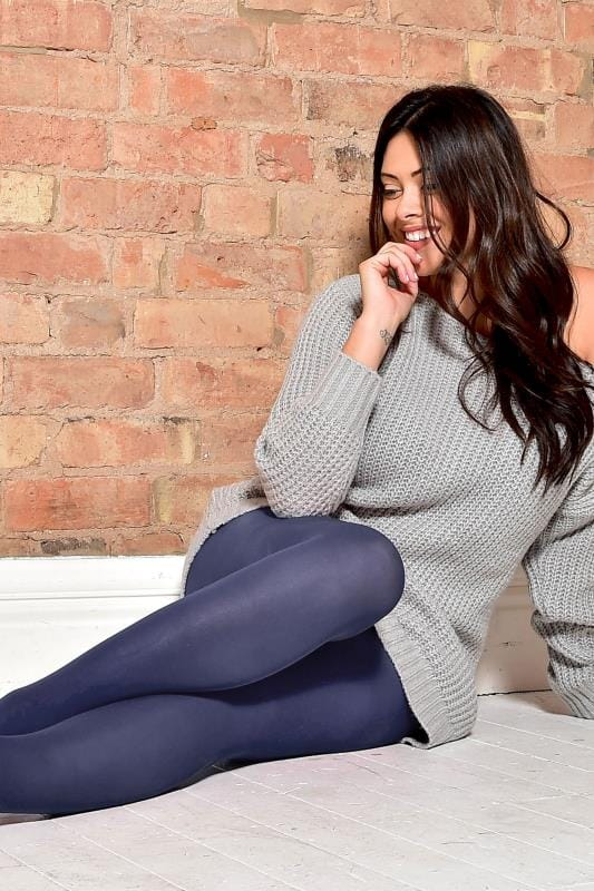 Navy 50 Denier Tights