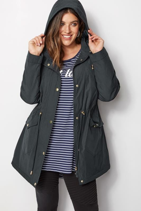 Navy Showerproof Coat