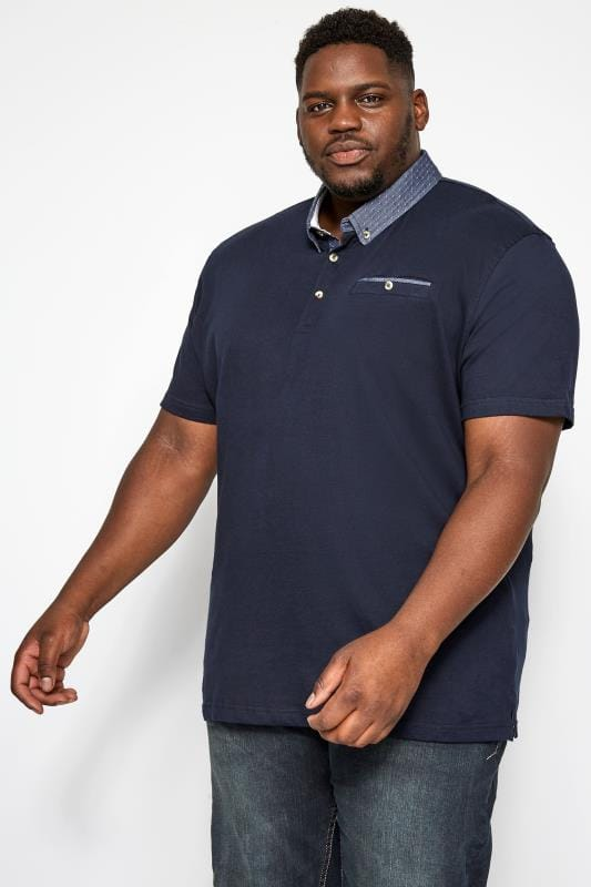 Polo Shirts Navy Smart Polo Shirt 201042
