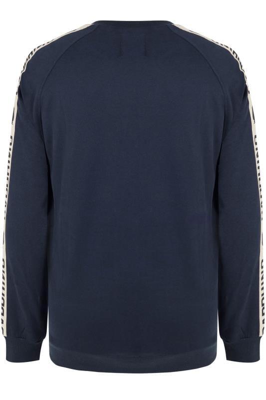 BadRhino Navy Taped Sweatshirt