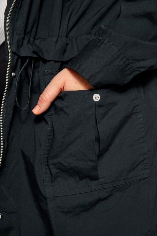 Navy Zip Through Jacket