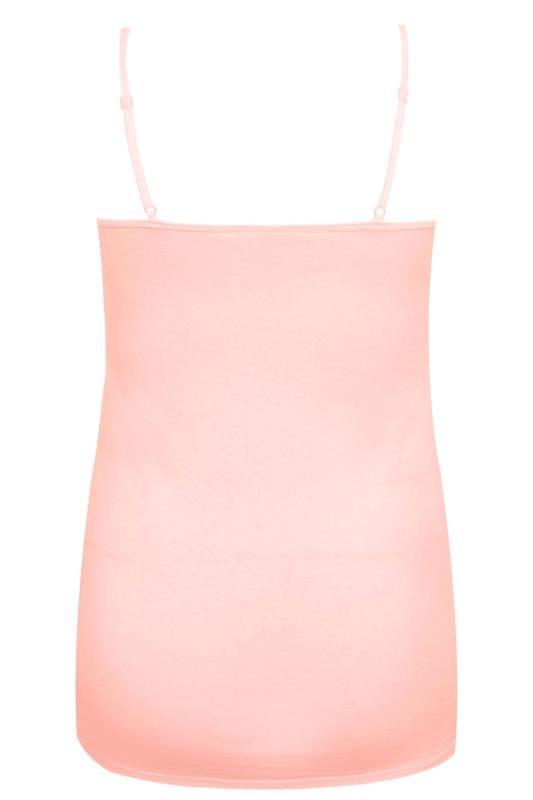 Nude Pink Cami Vest Top