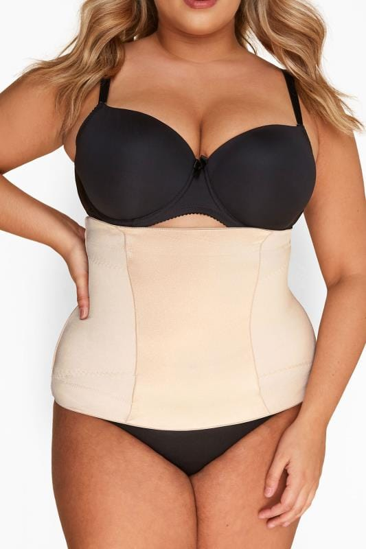 Nude Satin Belly Band