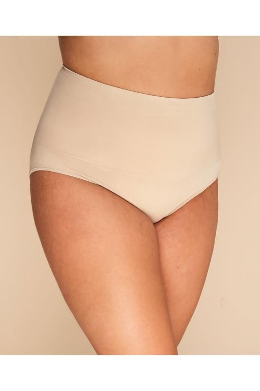 Plus Size Shapewear Nude Seamless Light Control Brief