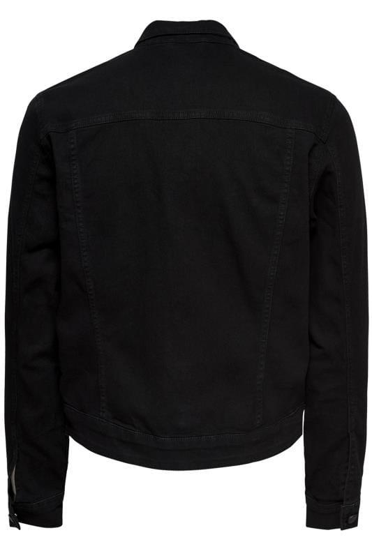 ONLY & SONS Black Denim Jacket
