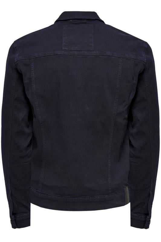 ONLY & SONS Navy Denim Jacket