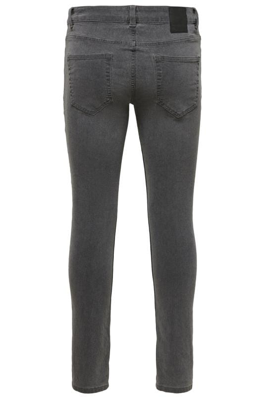 ONLY & SONS Grey Slim Fit Jeans