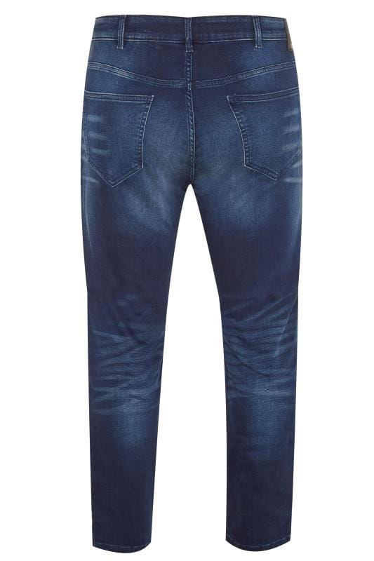ONLY & SONS Blue Denim Straight Leg Jeans