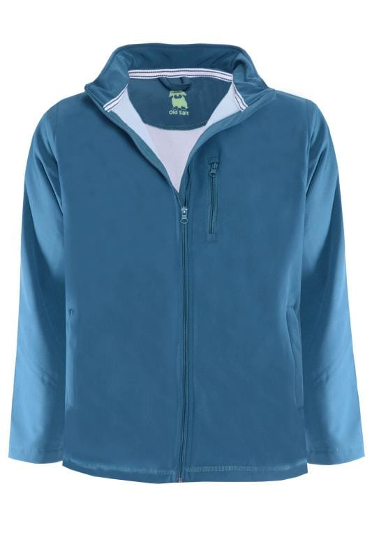 OLD SALT Blue Soft Shell Jacket