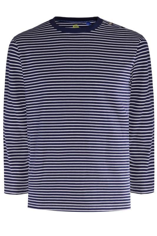 Sweatshirts Tallas Grandes OLD SALT Navy Stripe Jumper