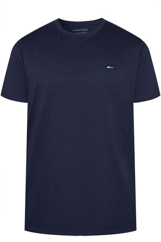 T-Shirts BadRhino Navy Organic Cotton T-Shirt 202280