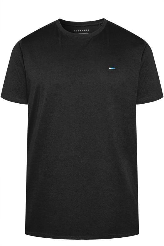 T-Shirts BadRhino Black Organic Cotton T-Shirt 202279