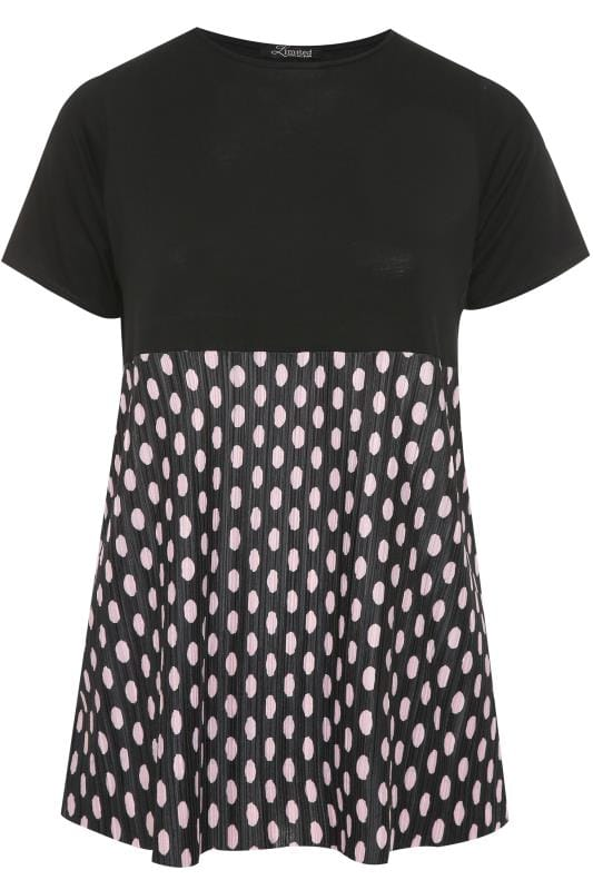 LIMITED COLLECTION Black Polka Dot Smock Top
