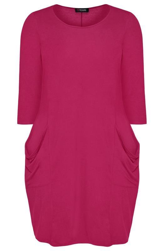 Rose Drape Pocket Dress Sizes 16 40 Yours Clothing