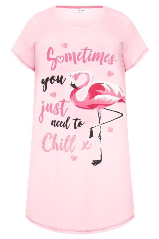 Pink Flamingo Nightshirt