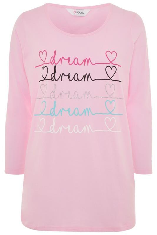 Pink Glitter Dream Pyjama Top