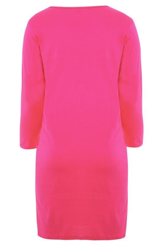 Nachthemd im Koala-Motiv - Pink
