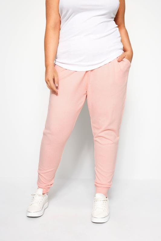 Plus Size Loungewear Pink Lounge Pants