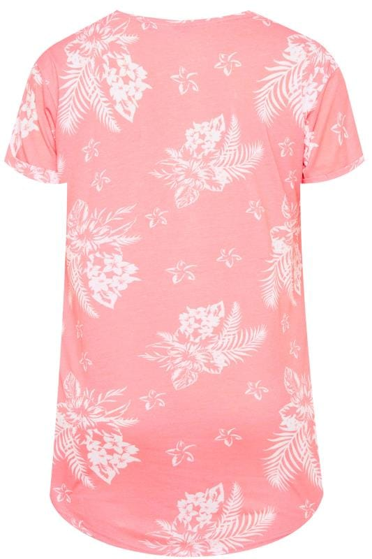White Stripe Butterfly Mock Pocket T-Shirt With Curved Hem