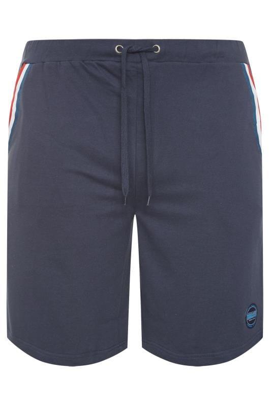 Men's Jogger Shorts BadRhino Navy Tape Jogger Shorts