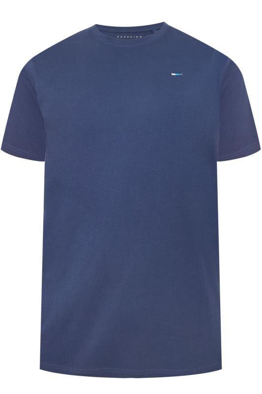 T-Shirts BadRhino Dark Blue Crew Neck T-Shirt 202298