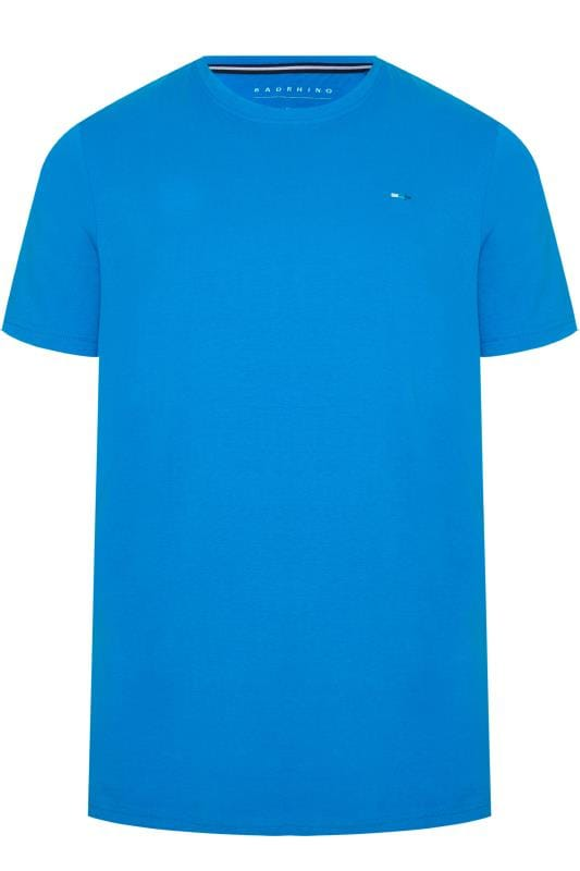 T-Shirts BadRhino Cobalt Blue Crew Neck T-Shirt 201263