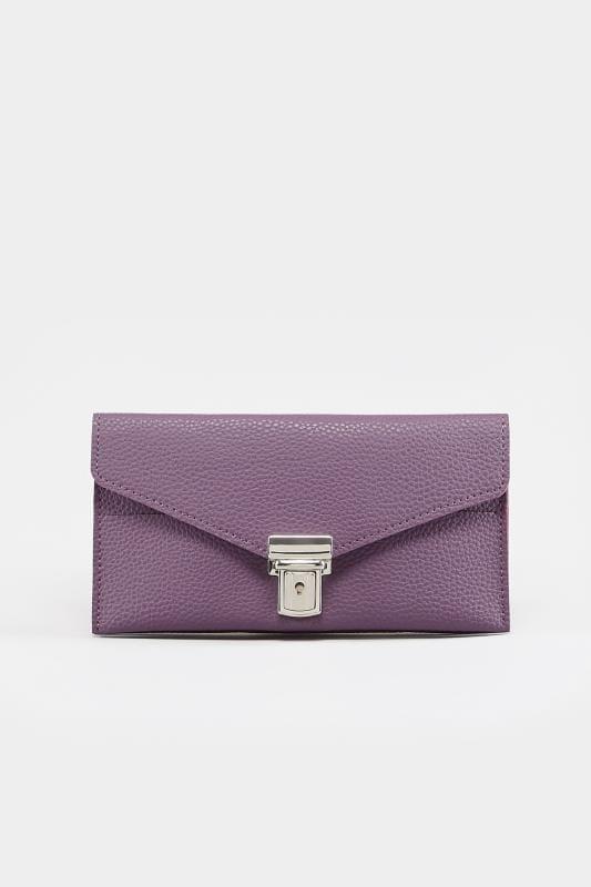 Purple Buckle Purse