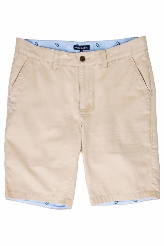 RAGING BULL Tan Chino Shorts