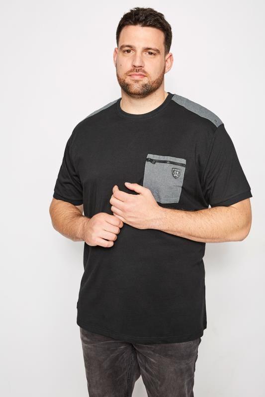 RAWCRAFT Black Traffic T-Shirt