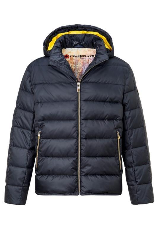 Jackets dla puszystych REDPOINT Navy Puffer Jacket