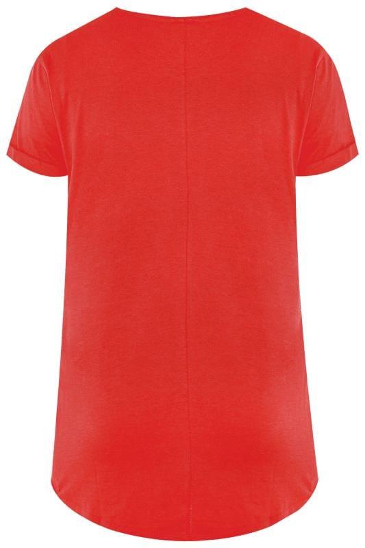 Red Pocket T-Shirt