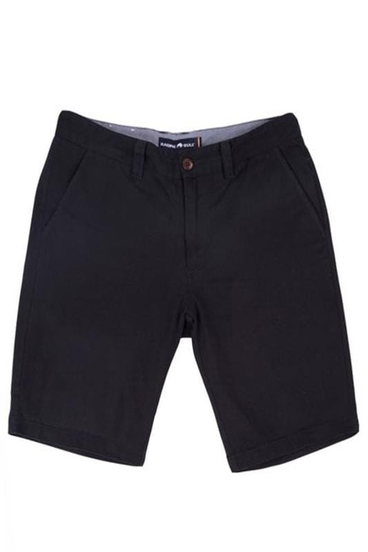 Plus Size Chino Shorts RAGING BULL Navy Chino Shorts