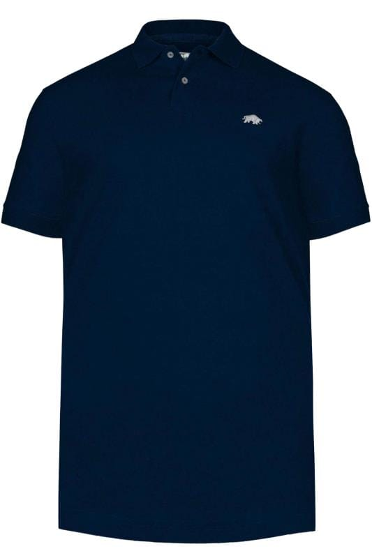 Polo Shirts RAGING BULL Navy Signature Polo Shirt 202395