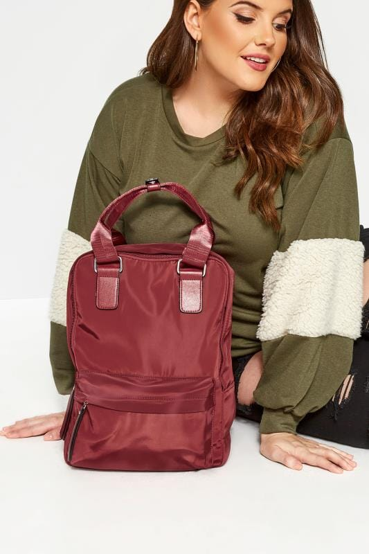 Shoulder Bags Red Backpack