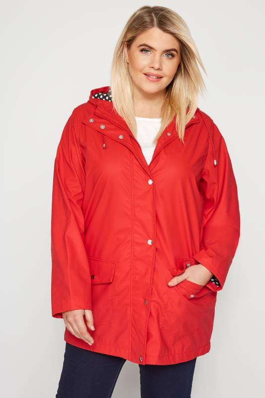 Plus Size Coats Red Coated Mac