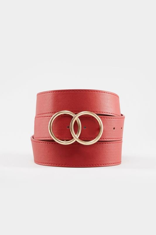 Red Double Circle Belt