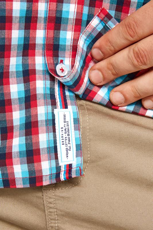BadRhino Red & Blue Checked Shirt