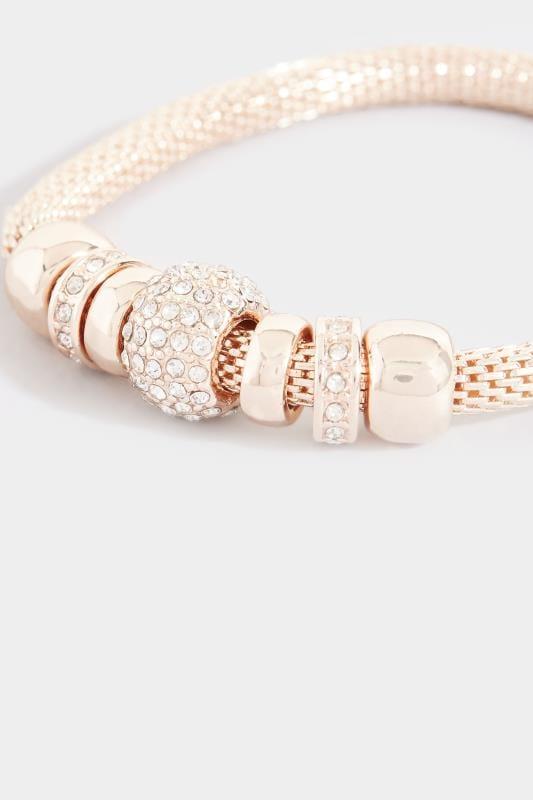 Rose Gold Charm Bracelet
