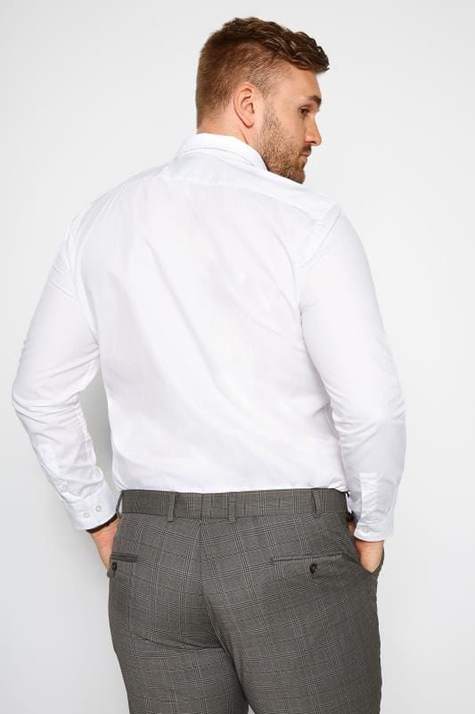 SCOTT & TAYLOR White Poplin Shirt
