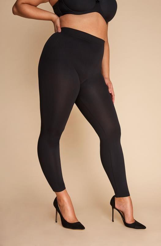 Black Slimming Control Leggings