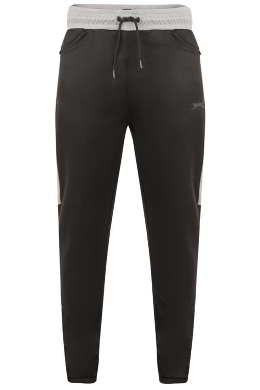 Joggers SLAZENGER Black Zip Leg Joggers