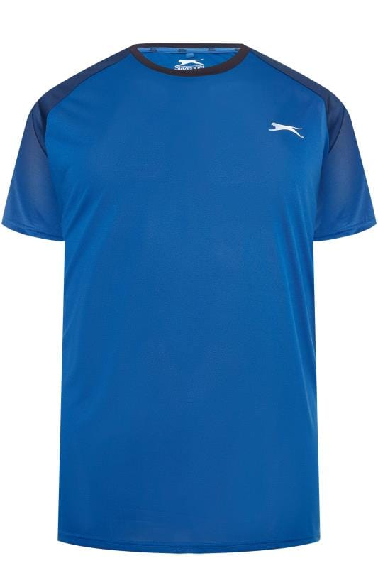 Большие размеры | Футболки SLAZENGER Blue Sports Top